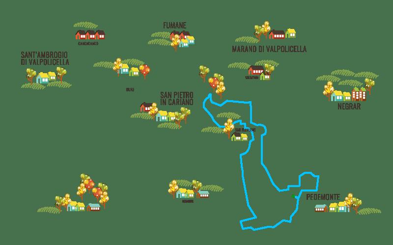 percorso amarathon 12.5 km